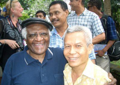 Sombath & Desmond Tutu