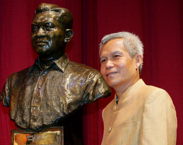 Sombath's response on receiving the Magsaysay Award