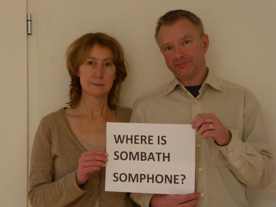 Dear Sombath…from Frank Bron