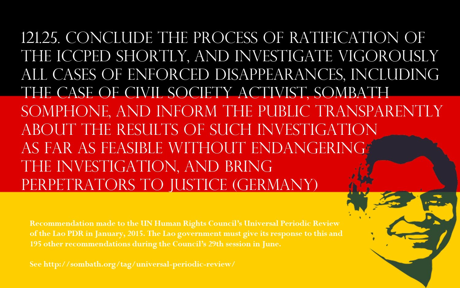 UPR Recommendation-Germany