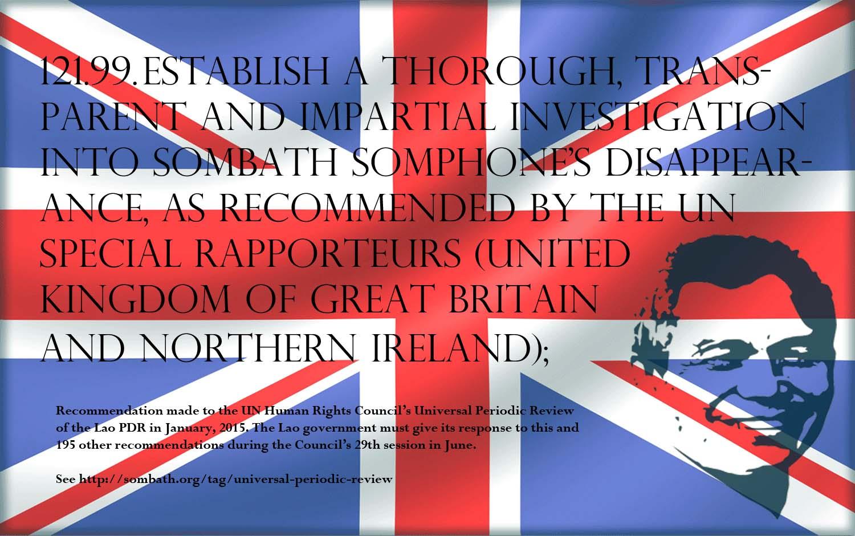 UPR Recommendation-United Kingdom