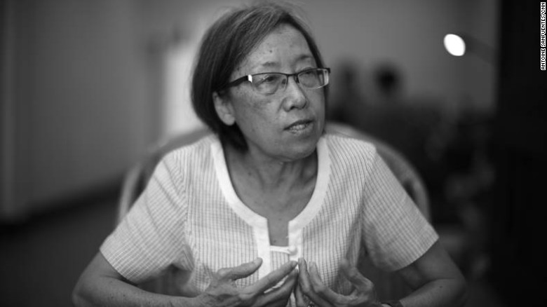 Shui Meng Ng, the wife of Sombath Somphone, who disappeared in Laos in 2012. She has appealed to President Barack Obama for help in finding out what happened to her husband.