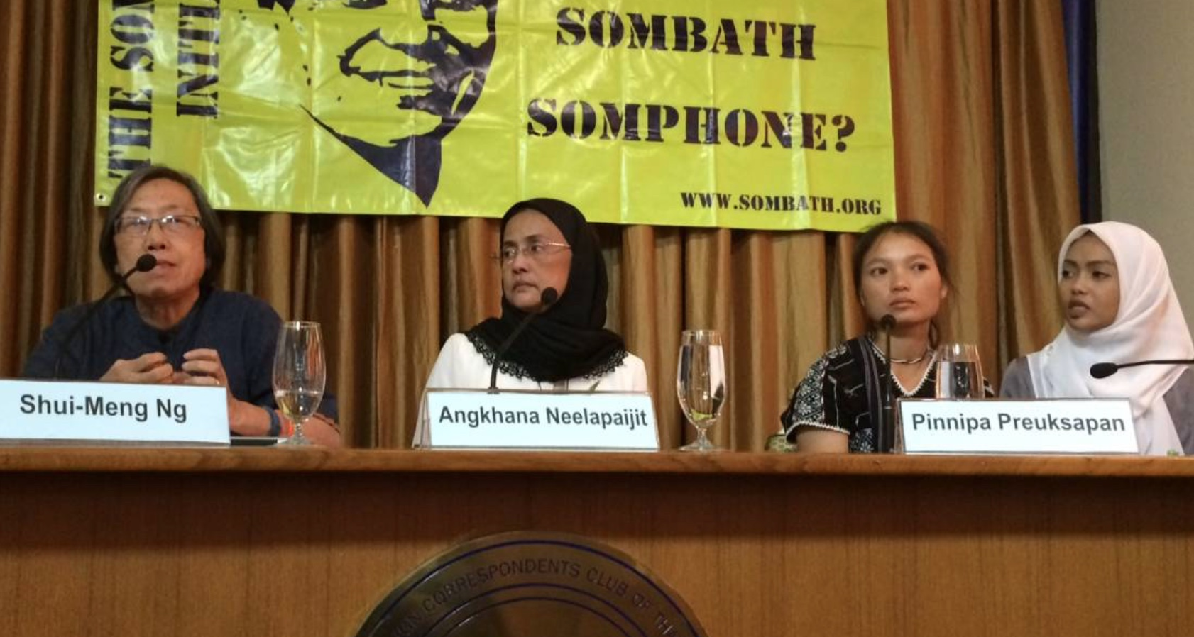 Wives of missing Thai, Lao activists seek action over disappearances