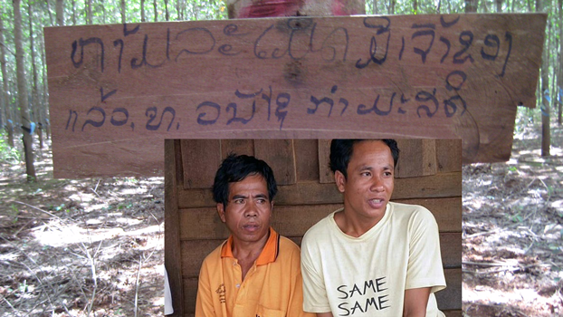 Lao Land Protest Villagers Held in Failing Health
