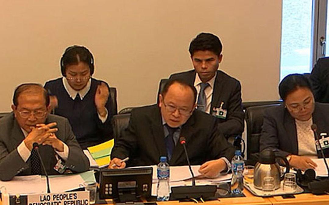 Lao Delegation Ducks Questions at UN Rights Review